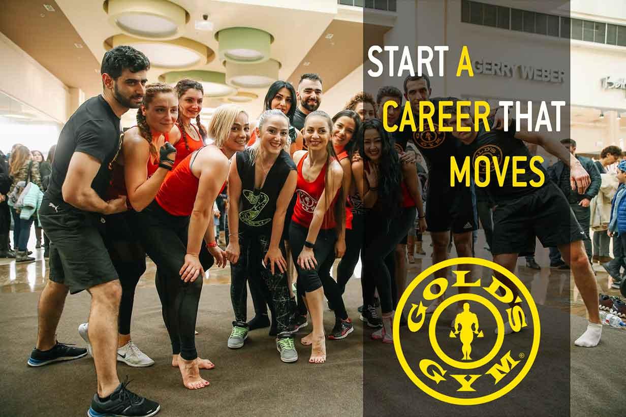 Career - Golds Gym